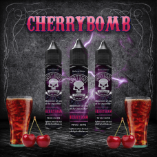Cherry Bomb E-Liquid By Sweet Bones (REFORMULADO)