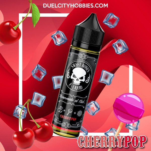 Cherry Pop E-Liquid By Sweet Bones