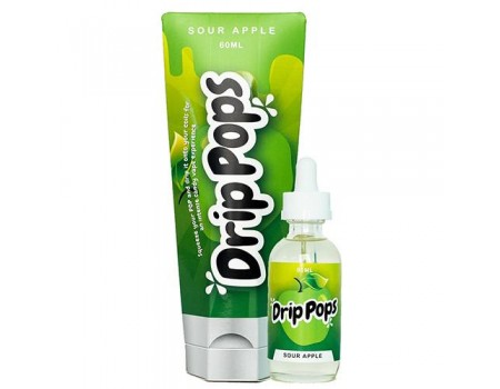 Drip Pops - Sour Apple Drip Pop - 60ml