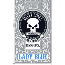 Lady Blue Salts E-Liquid By Sweet Bones
