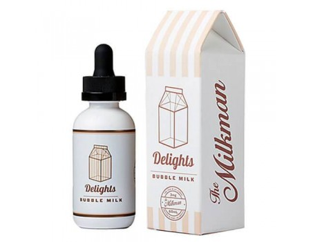 The MilkMan Delights eLiquids - Bubble Milk - 60ml