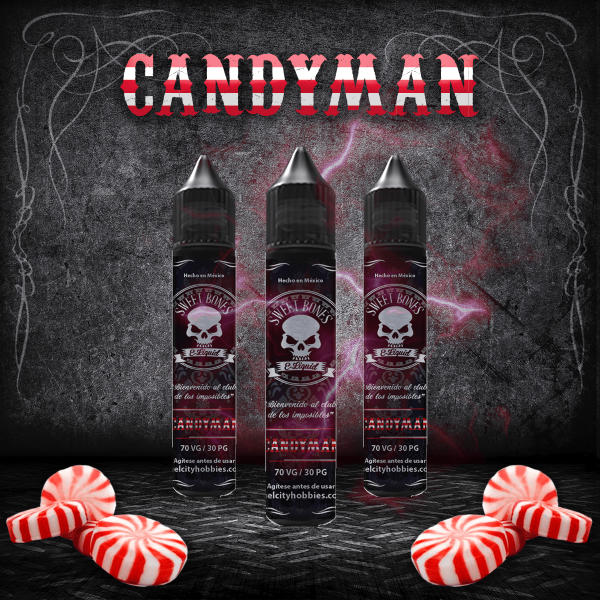 CandyMan E-Liquid By Sweet Bones