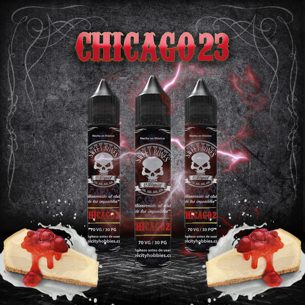 CHICAGO23 By Sweet Bones E-Liquid
