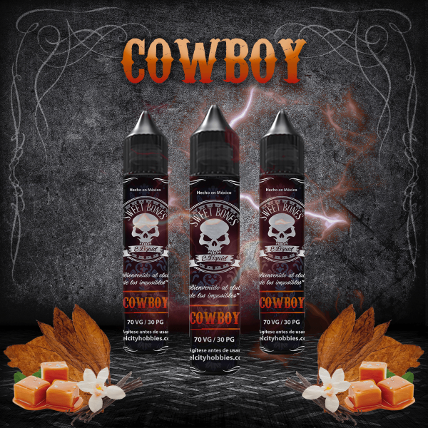 CowBOY By Sweet Bones E-Liquid