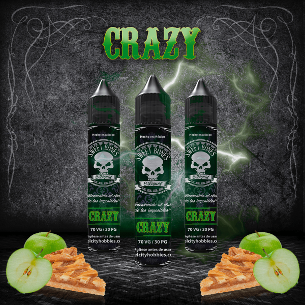 CRAZY E-LIQUID By Sweet Bones