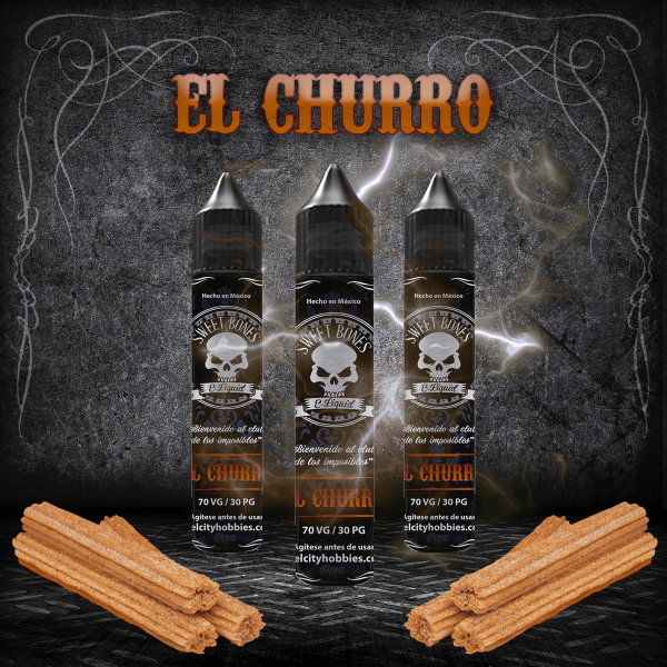 El Churro E-Liquid By Sweet Bones