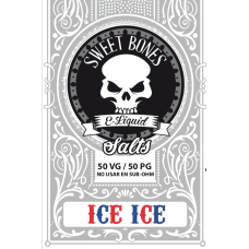 Ice Ice  Salts E-Liquid By Sweet Bones