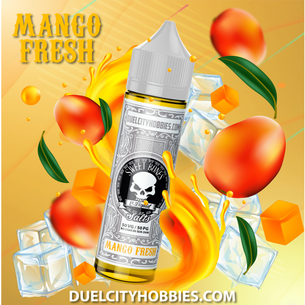 Mango Fresh NicSalts E-Liquid By Sweet Bones