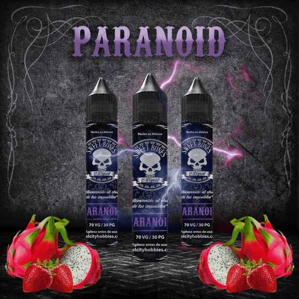 PARANOID E-LIQUID By Sweet Bones