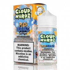 CLOUD NURDZ - Peach Blue Razz ICED - 100ml