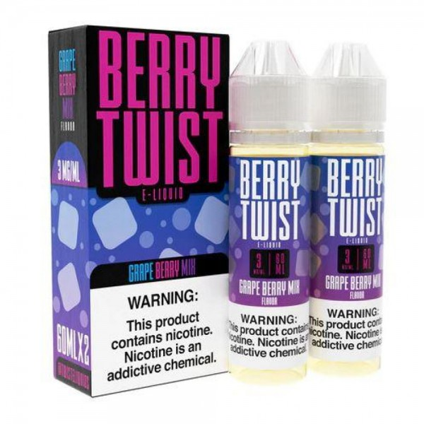 Grape Berry Mix By Twist E-Liquid